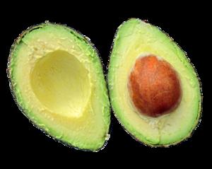 Half Avocado PNG Transparent Image PNG Clip art