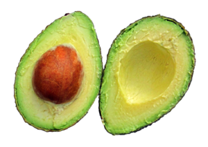Half Avocado Transparent PNG PNG Clip art