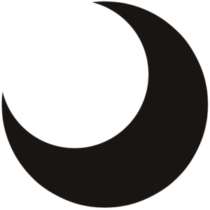 Half Moon PNG Transparent PNG icons