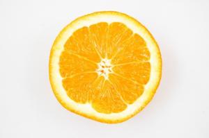 Half Orange PNG Clipart PNG Clip art