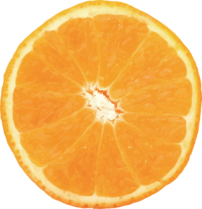 Half Orange PNG Free Download PNG clipart