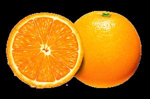 Half Orange PNG Pic PNG Clip art