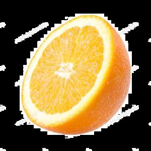 Half Orange PNG Transparent Image PNG Clip art