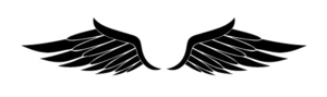 Half Wings PNG Clipart PNG Clip art