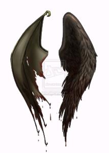 Half Wings PNG File PNG Clip art