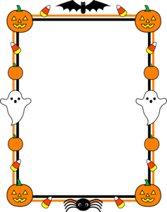 Halloween Border PNG Pic PNG Clip art