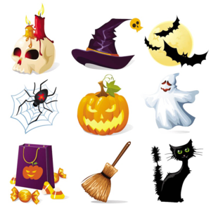 Halloween Elements PNG Free Download PNG Clip art