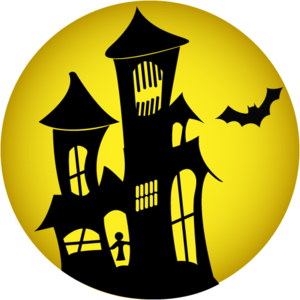 Halloween House PNG HD PNG Clip art