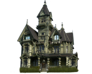 Halloween House PNG Transparent PNG Clip art