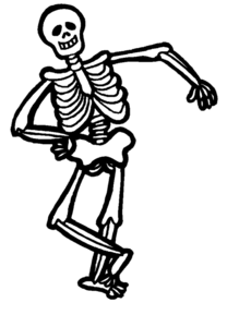 Halloween Skeleton PNG Clipart PNG icon