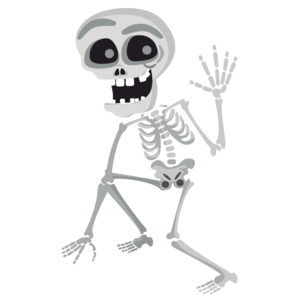 Halloween Skeleton PNG Free Download PNG Clip art