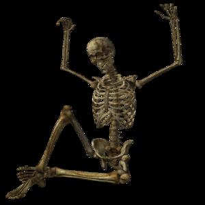 Halloween Skeleton PNG Pic PNG Clip art