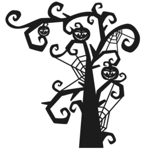 Halloween Tree PNG Pic PNG Clip art
