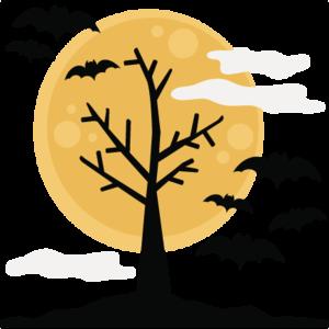 Halloween Tree Transparent Background PNG Clip art