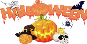 Halloween Trick Or Treat Background PNG PNG Clip art