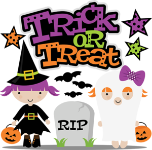 Halloween Trick Or Treat PNG HD PNG Clip art