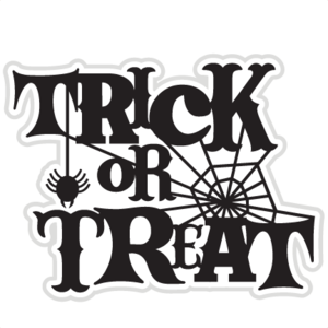Halloween Trick Or Treat PNG Picture PNG Clip art