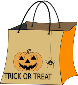 Halloween Trick Or Treat Transparent PNG PNG Clip art