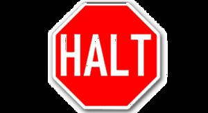 Halt PNG File PNG Clip art