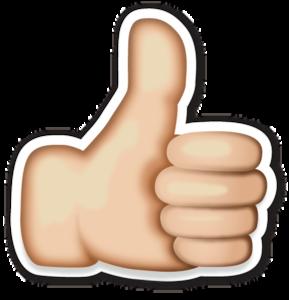 Hand Emoji PNG Clipart PNG Clip art