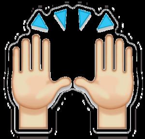 Hand Emoji PNG Free Download PNG Clip art