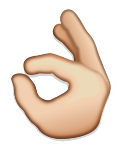 Hand Emoji PNG Transparent Image PNG Clip art