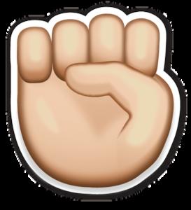 Hand Emoji Transparent Background PNG Clip art
