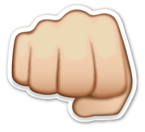 Hand Emoji Transparent PNG PNG Clip art