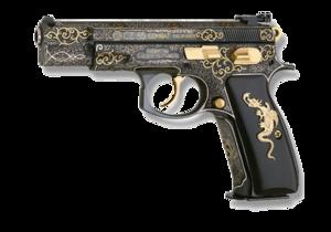 Handgun PNG Transparent Image PNG icon