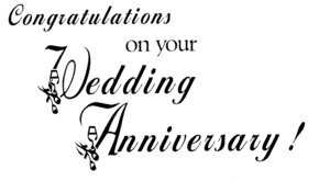 Happy Anniversary PNG Pic PNG Clip art