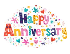 Happy Anniversary PNG Transparent Image PNG Clip art