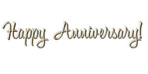 Happy Anniversary PNG Transparent Picture PNG Clip art