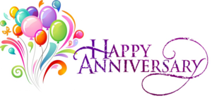 Happy Anniversary PNG Transparent PNG Clip art
