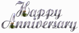 Happy Anniversary Transparent Images PNG PNG Clip art