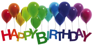Happy Birthday PNG Photo PNG Clip art