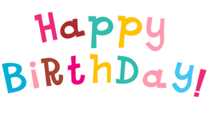 Happy Birthday PNG Transparent Picture PNG Clip art