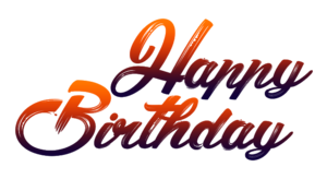 Happy Birthday Text PNG Clipart PNG Clip art