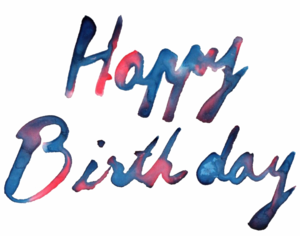 Happy Birthday Text PNG Photos PNG Clip art