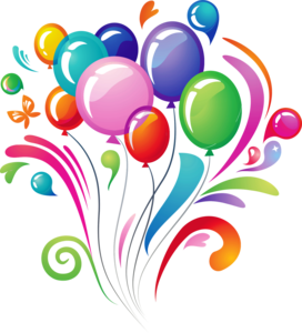 Happy Birthday Transparent Background PNG Clip art