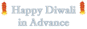 Happy Diwali In Advance PNG Clipart Background PNG Clip art