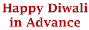 Happy Diwali In Advance PNG Transparent Background PNG Clip art