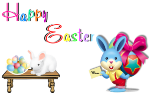Happy Easter Transparent PNG PNG Clip art