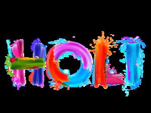 Happy Holi PNG File PNG Clip art