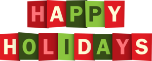 Happy Holidays PNG Clipart PNG Clip art