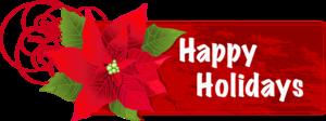 Happy Holidays PNG Transparent Image PNG Clip art