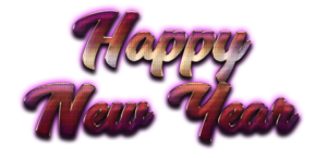 Happy New Year Letter PNG HD PNG Clip art