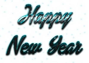 Happy New Year Letter PNG Image PNG Clip art