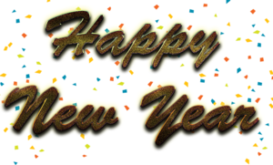 Happy New Year Letter PNG Photos PNG Clip art