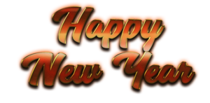 Happy New Year Letter PNG Transparent Image PNG Clip art