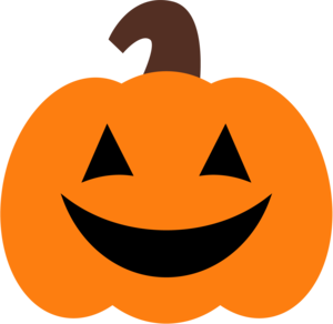 Happy Pumpkin Transparent Background PNG Clip art